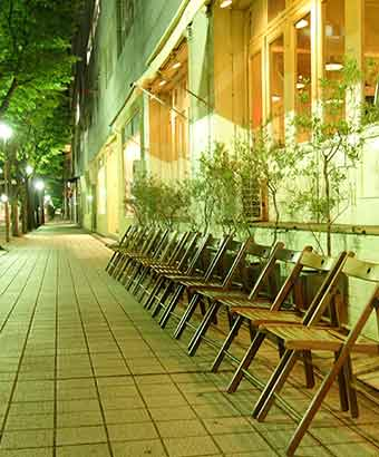 神戸のカフェ