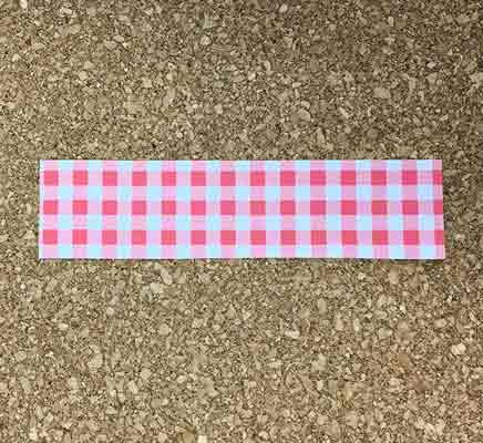 折り紙から短冊