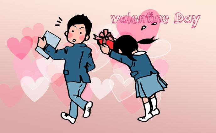 バレンタインチョコ学校での渡し方のコツ・渡すタイミング