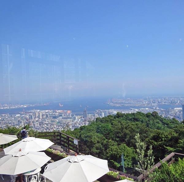 神戸の街を見下ろすことができます☆夜には素晴らしい夜景が見られそう♪