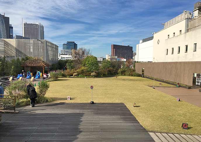 屋上庭園「アイ・ガーデン」伊勢丹新宿店