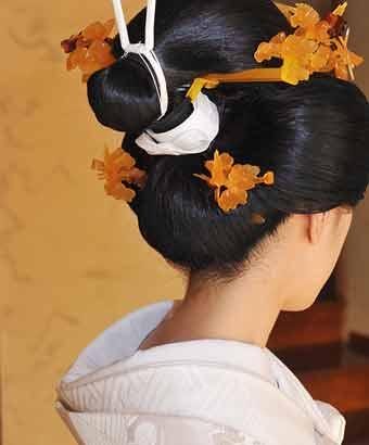 花嫁の日本髪