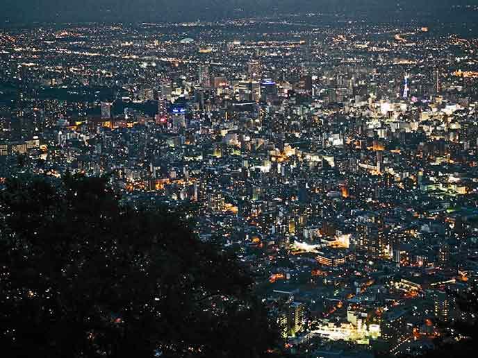 札幌の街が一望できます