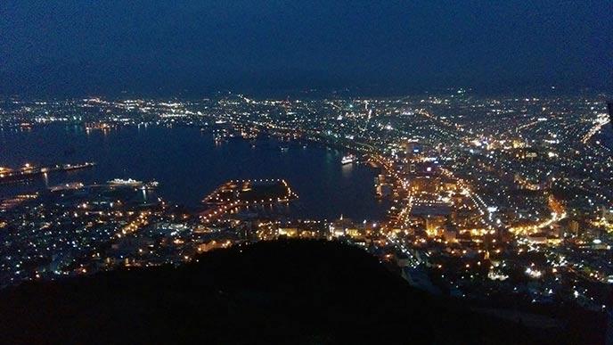 これぞ広大な北海道の夜景!