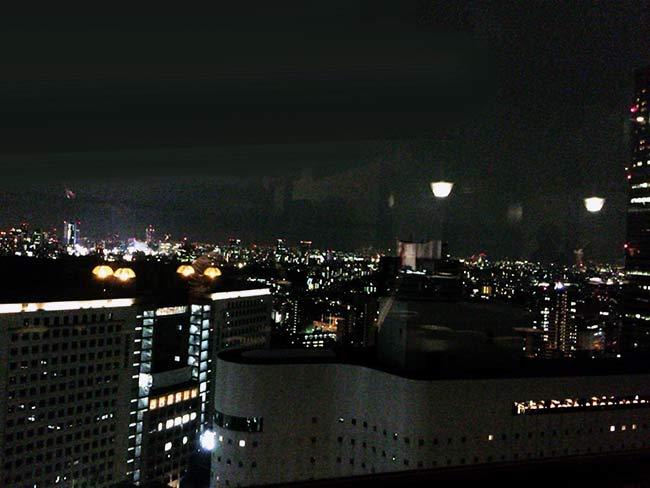 カップルシートから見える一面の夜景!これだけでも素敵なサプライズですよね!