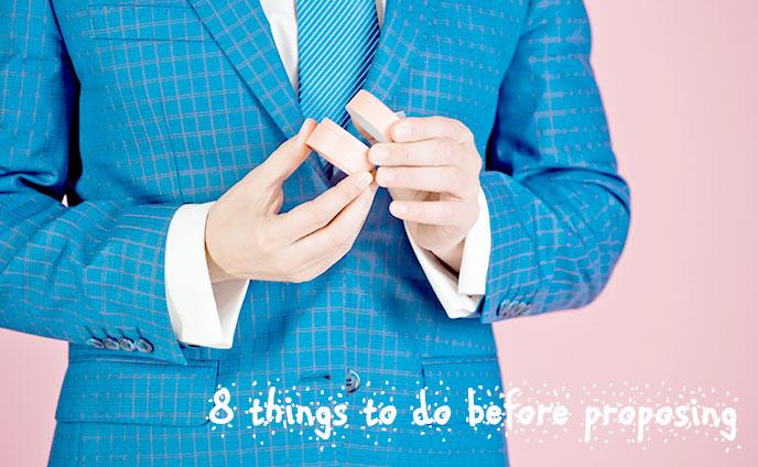 プロポーズの準備で男がするべき8つのこと