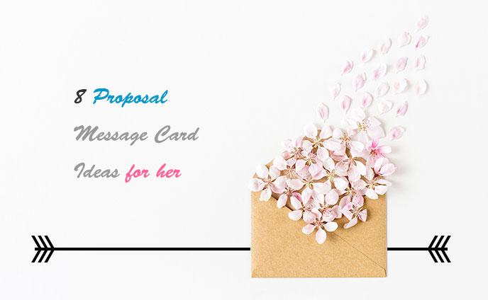 プロポーズの時に渡したいメッセージカードの書き方8つ
