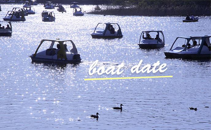 ボートデートで別れる嫌なジンクスを吹き飛ばす注意点8つ