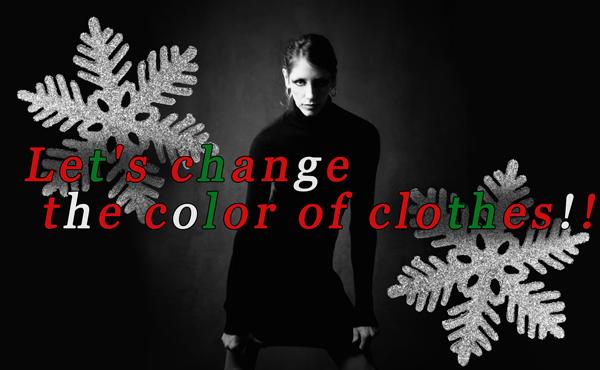 【クリスマスコーデには赤白緑を】無難系ダークカラー卒業しよ!