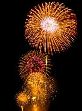 ヤッパリ花火大会やイベントを見に行くのは楽しい!