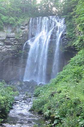 良縁パワー1 アシリベツの滝/北海道