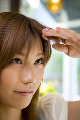 前髪のジンクス