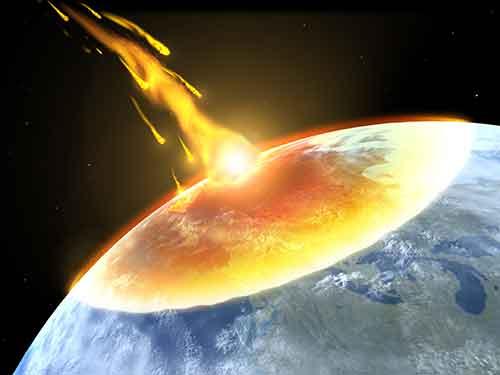 告白の勇気をくれる地球滅亡イメージ
