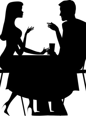 会話にキバリすぎカップル