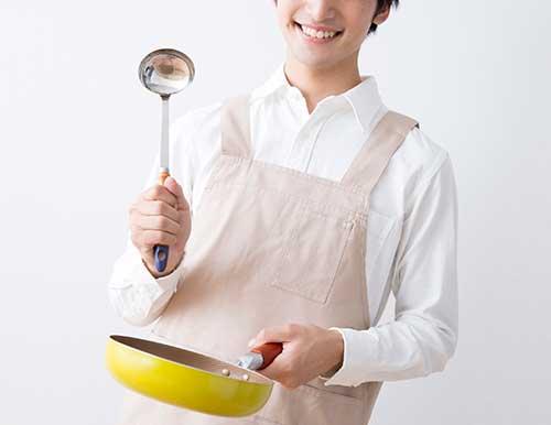 料理が得意なオカン系男子