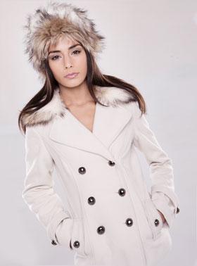 白いコート