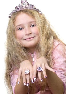 ピンクの指輪