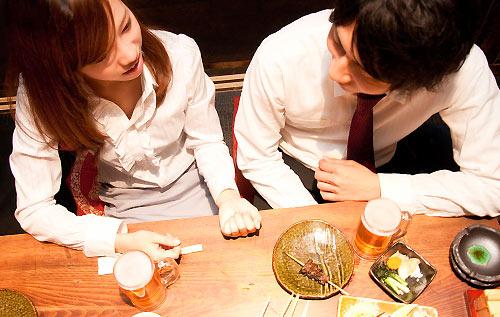 飲み会での談話