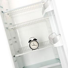 冷蔵庫を見ない