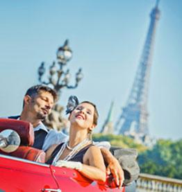 パリでのドライブ